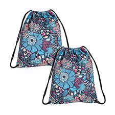 Custom Design All Over Print Drawstring Backpack, Small