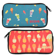 Design your Own All Over Print Neoprene Pencil Case ( Custom Front and Back )