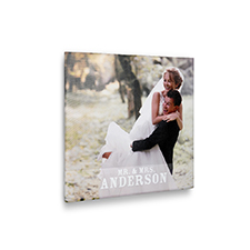 24 x 24 Design your Own Photo Canvas Print