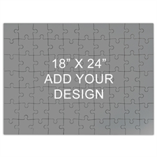 18 x 24 Wooden Jigsaw Puzzle (Landscape, 70 or 500 pieces)