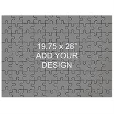 19.75 x 28 Large Wooden Jigsaw Puzzle (Landscape, 208 pieces)