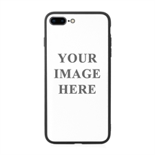 Custom Photo Phone Case with Black Liner for Apple iPhone 7 Plus / 8 Plus