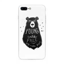 Personalized Graphic Apple iPhone 7+/8+ Case with Clear Liner