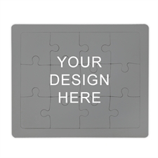Custom Puzzle with Frame, Horizontal