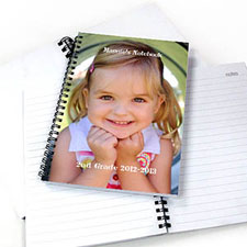 Full Photo Two Title NoteBook