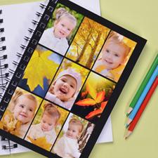 Black Nine Collage NoteBook