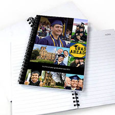 Black Nine Collage One Title NoteBook