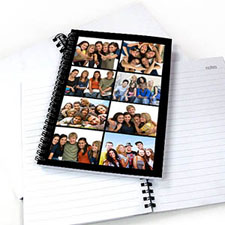 Black Eight Collage NoteBook