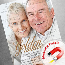 Large Magnetic Portrait Photo Puzzle, Love