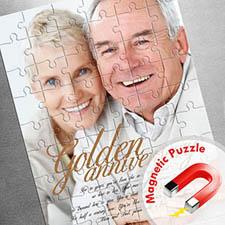 Large Magnetic Portrait Photo Puzzle, Love