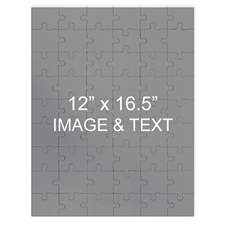 Large Magnetic Portrait Photo Jigsaw Puzzle