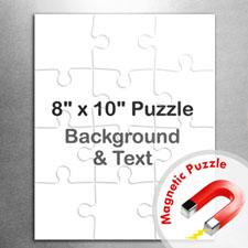 8x10 Magnetic Portrait Message Jigsaw Puzzle