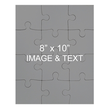 8x10 Magnetic Portrait Photo Jigsaw Puzzle