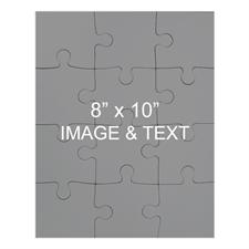 8x10 Magnetic Portrait Photo Jigsaw Puzzle