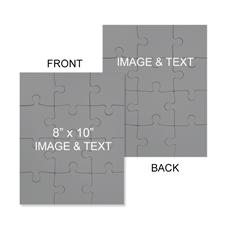 8x10 Double Sided Photo Jigsaw