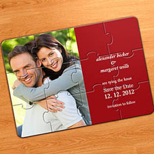 Marriage Puzzle Announcements, Red