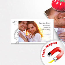 2x3.5 Big Celebration Save the Date Photo Magnets