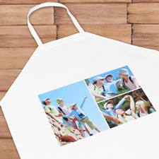 Three Collage Photo Apron, Adult