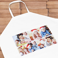 Four Collage Photo Apron, Adult