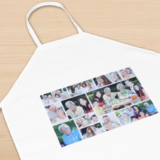 Twelve Collage Photo Apron, Adult