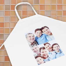 Three Collage Portrait Apron, Adult