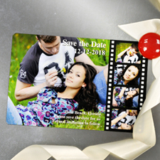4x6 Filmstrip Fun Save the Date Magnet