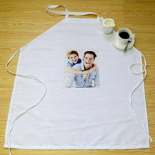 Small Portrait Photo Apron, Adult