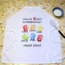Single Portrait Photo Apron, Adult