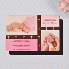4x6 Baby Blessing Girl Photo Magnet