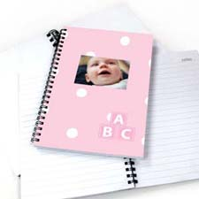 Happy Baby Girl NoteBook
