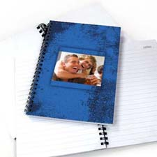 Modern Blue Texture NoteBook