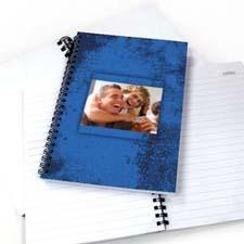 Modern Blue Texture NoteBook