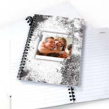 Modern White Texture NoteBook
