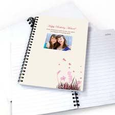 Spring in Pink Photo Notebook