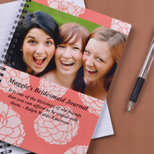 Vibrant Flowers Photo Notebook