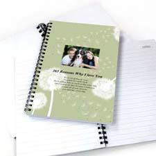 Dandelion Star Photo Notebook