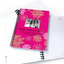 Floral Corner Star Photo Notebook