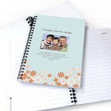 Wildflowers Photo Notebook