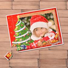 Custom Large Photo Jigsaw Puzzle, Christmas Tree