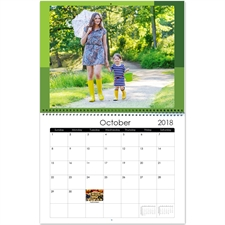 Personalized Modern Tones, Large Wall Calendar (14