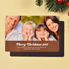 Create Merry Christmas  Chocolate Fridge Magnets