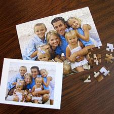 Custom Christmas Photo Jigsaw Puzzle, Horizontal