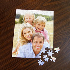 Custom Christmas Photo Jigsaw Puzzle, Vertical