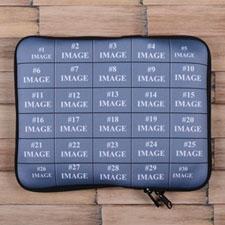 Facebook Thirty Collage iPad Sleeve
