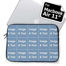 Instagram Fifteeen Collage MacBook Air 11 Sleeve
