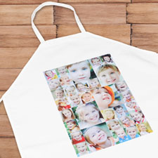 Instagram Portrait Thirty Three Collage Adult Apron