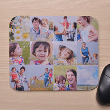 Custom Print Instagram Twelve Collage Mousepads