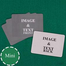 Mini Size Landscape Custom Cards (Blank Cards)