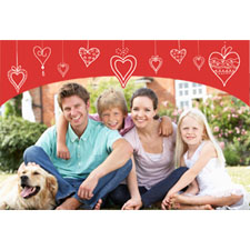 Happy Hearts 3D Photo Cards