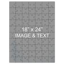 Jumbo Portrait 18x24 Photo Puzzle 70 Pc, Personalized Box